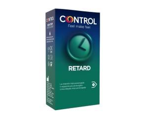 Control Condom Preservativo New Non Stop Retard Misura Standard 6 Pezzi
