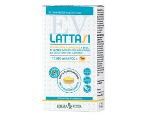 Erba Vita Linea Benessere Stomaco Lattasi Integratore Alimentare 30 Compresse
