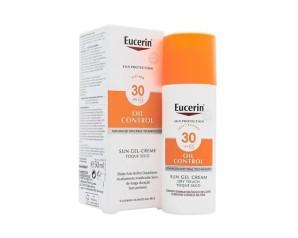 Eucerin Sun Protezione Solare Gel Crema Dry Touch SPF30 Pelli Sensibili 200 ml