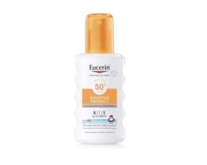 Eucerin Sun Kids Sensitive Protect Protezione Solare SPF50+ Spray Pelli Sensibili 300 ml