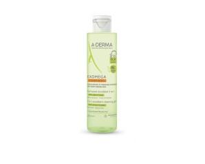 A-Derma Cosmetica del Benessere Exomega Control Gel Detergente Corpo e Capelli 2 in 1 500 ml