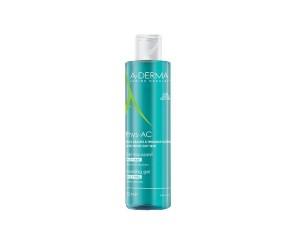 A-Derma Cosmetica del Benessere Phys-AC Gel Detergente Delicato Pelle Acneica Impura 400 ml