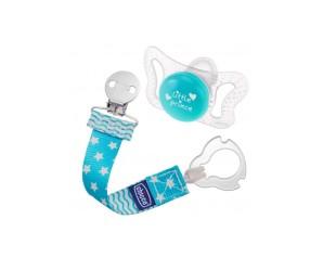 Chicco Artsana PhysioForma Micro Comfort Succhietto Tettarella Silicone 0-2m 1 Pezzo con Fashion Clip