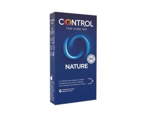 Control Condom Preservativo New Nature Misura Standard 6 Pezzi