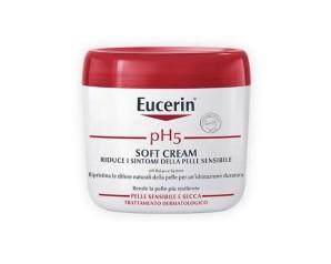 Eucerin pH5 Soft Cream Crema Idratante Pelli Secche Sensibili 450 ml Promo