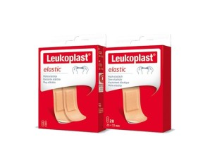 Essity Linea Medicazioni Specializzate Leukoplast Elastic 40 Pezzi Assortiti