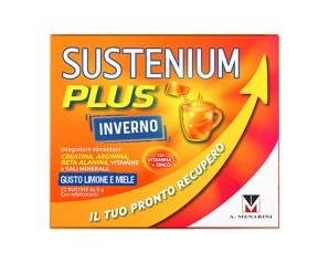 A. Menarini Supplementi Benessere Sustenium Plus Inverno Integratore Alimentare 22 Buste + Gel Igienizzante