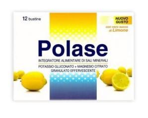 Polase Limone Sali Minerali Integratore Alimentare 12 Bustine