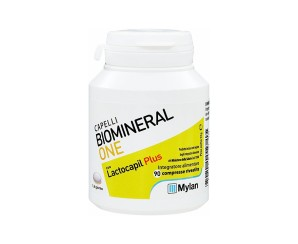 BIOMINERAL ONE  LACTOCAPIL PLUS INTEGRATORE ALIMENTARE ANTICADUTA CAPELLI 90 COMPRESSE