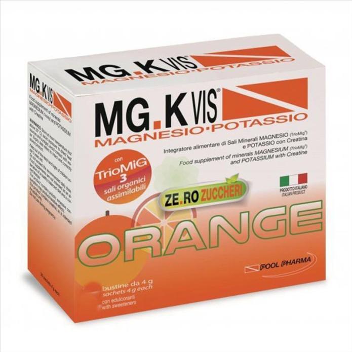 Pool Pharma Mgk Vis Orange Zero Zuccheri Senza zucchero 15 Bustine