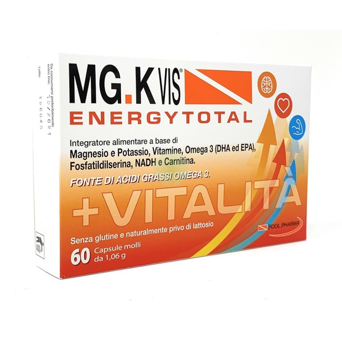 Pool Pharma Mgk Vis Energy Total 60 Capsule Molli