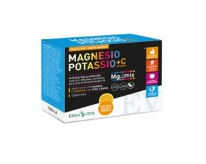Erba Vita Magnesio E Potassio + Vitamina C Gusto Arancia 20 Buste