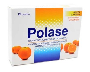 Polase Arancia Sali Minerali Integratore Alimentare 12 Bustine