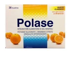 Polase Arancia Sali Minerali Integratore Alimentare 36 Bustine