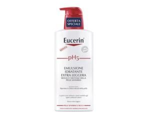 Eucerin pH5 Emulsione Idratante Extra Leggera Trattamento Dermatologico 400 ml
