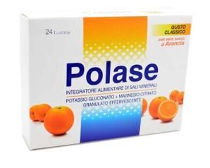 Polase Arancia Sali Minerali Integratore Alimentare 24 Bustine
