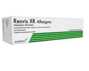 Alfasigma Biofutura Resvis XR Integratore Alimentare 20 Compresse Effervescenti