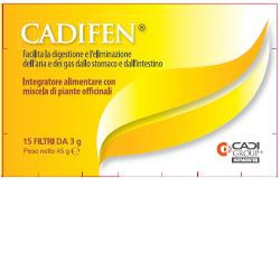 Ca.Di. Group Cadifen Integratore Alimentare 15 Filtri da 3g