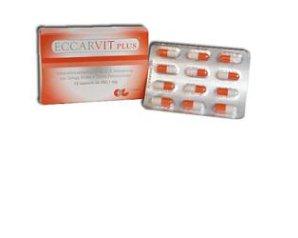 Ca.Di. Group Eccarvit Plus Integratore Alimentare 12 Capsule