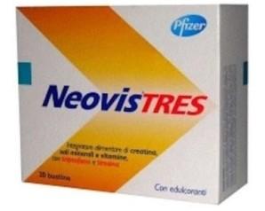 Neovis Tres Integratore Creatina Triptofano e Tirosina 20 Bustine