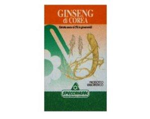 Specchiasol Ginseng Coreano Erbe Integratore alimentare 60 Capsule