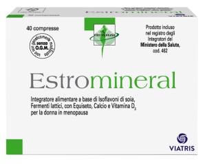 Estromineral  Menopausa Classico Integratore Alimentare 40 Compresse