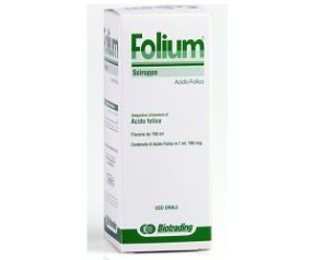 Biotrading Folium Sciroppo Integratore Alimentare 150 ml