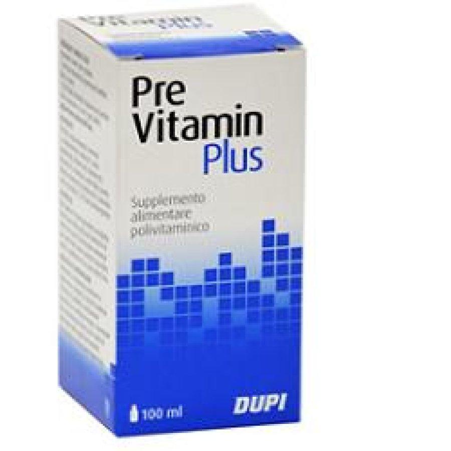 Dupi Previtamin Plus Integratore Alimentare 100 ml