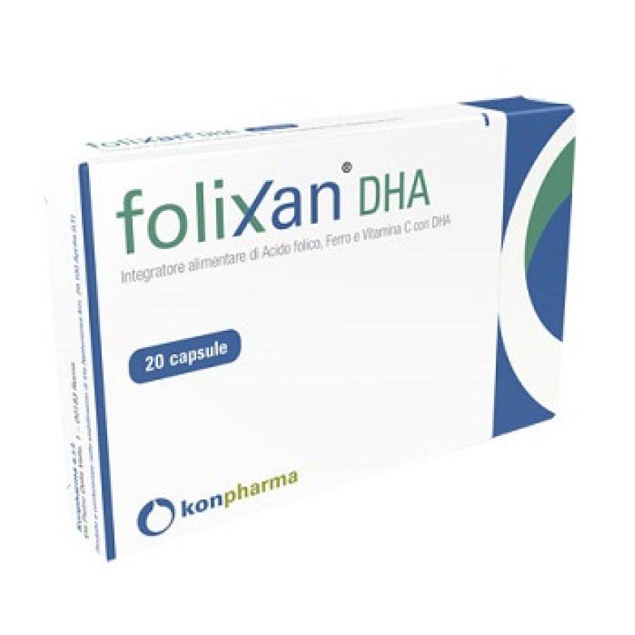 Folixan Dha 20 Capsule 16,3 g