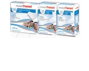 Corman Garza Compressa Sterile Medipresteril Tessuto Non Tessuto 36x40cm 12pezzi