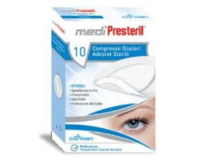 Corman Garza Compressa Oculare Medipresteril Adesiva 10 Pezzi