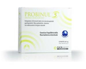 Ca.Di. Group Probinul 5 Integratore Alimentare Aroma cioccolato 12 Bustine