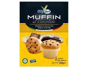 SG DIET Muffin Ciocc.180g