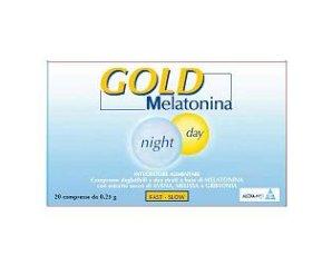 Alcka Med Melatonina Gold Night E Day Integratore Alimentare 20 Compresse