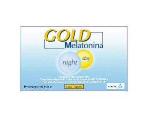 Alcka Med Melatonina Gold Night E Day Integratore Alimentare 60 Compresse