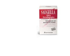 Saugella  Rossa Dermatologica Sapone Solido Detergente Idratante 100 g