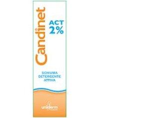 Uniderm Candinet Act 2% Schiuma detergente 150 ml