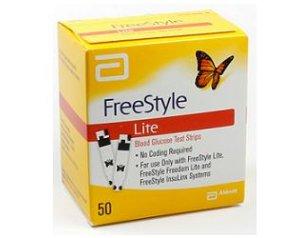 Abbott Diabetes Care  Controllo Glicemia Freestyle Lite 50 Strisce Reattive