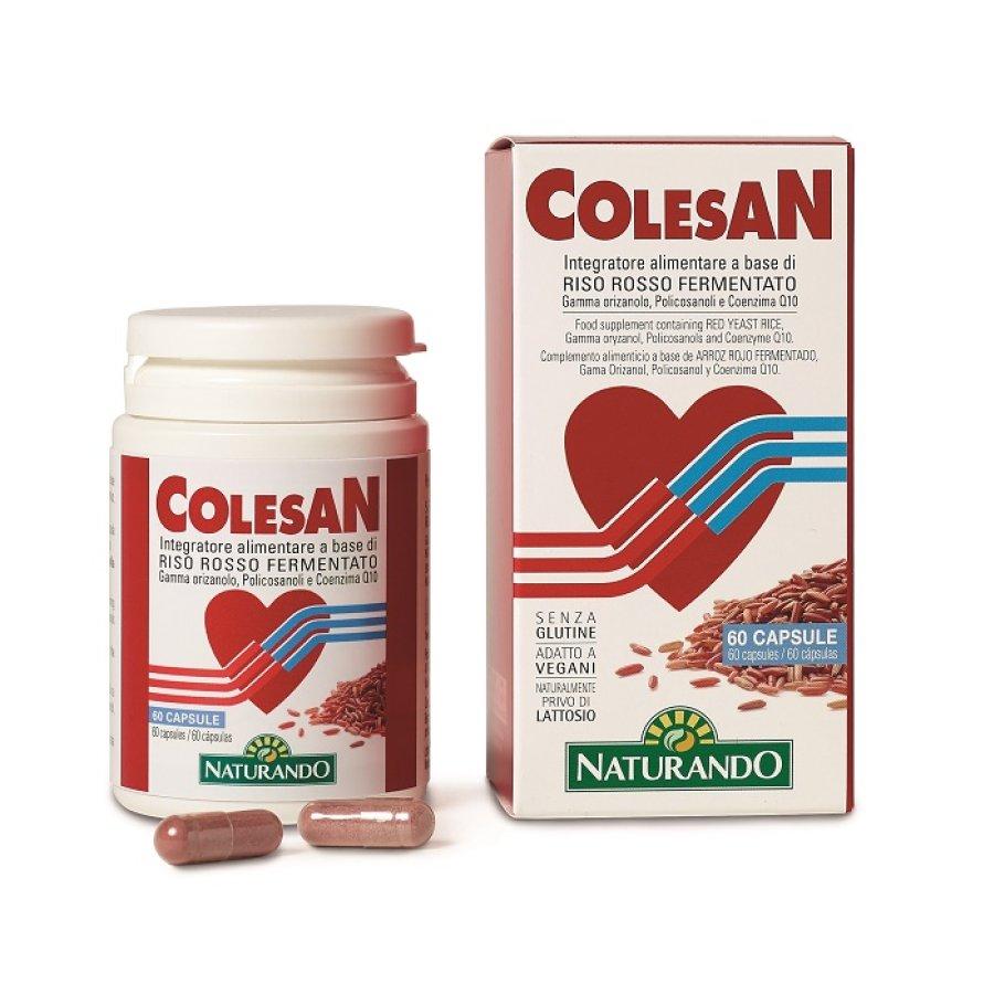 Naturando Colesan Integratore Alimentare 60 Capsule