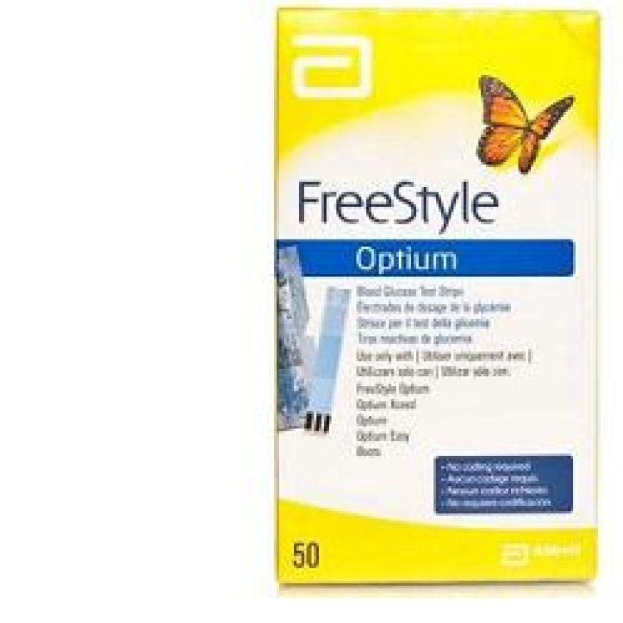 Abbott FreeStyle Optium Strisce Test Glicemia 25 Strisce