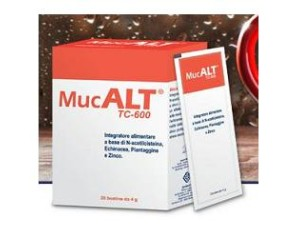 Ddfarma Mucalt Tc-600 20 Buste 4 G