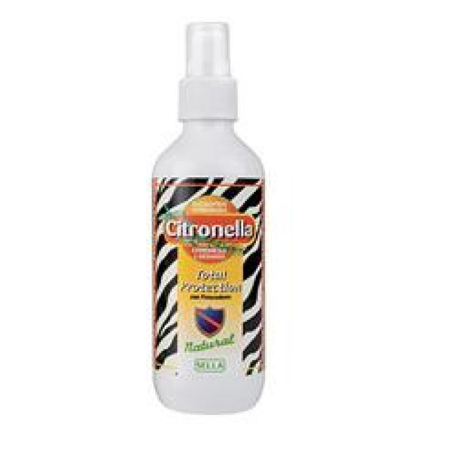 Sella Citronella Total Protection Family Spray Anti-Zanzare 200 ml