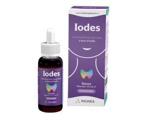 Inlinea Iodes Gocce Integratore Alimentare 15 ml