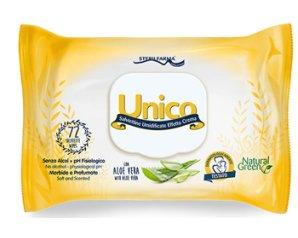 Sterilfarma Unico Salviettine Umidificate Effetto Crema Pop Up 72 Pezzi