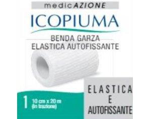 Desa Pharma Benda Garza Elastica Icopiuma Autofissante Cm 10 X 20 Mt