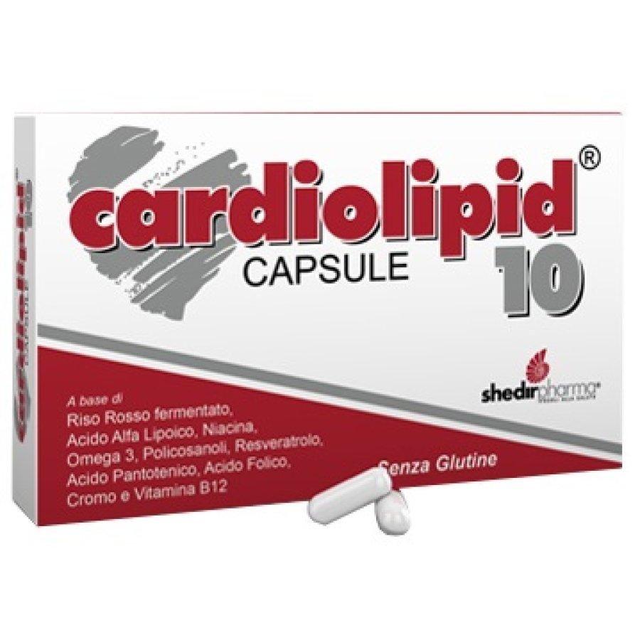 Shedir Pharma Cardiolipid 10 Integratore Alimentare 30 Capsule