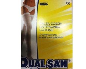 Dual Sanitaly Dualsan Calza Antitrombo Con Tassello  4