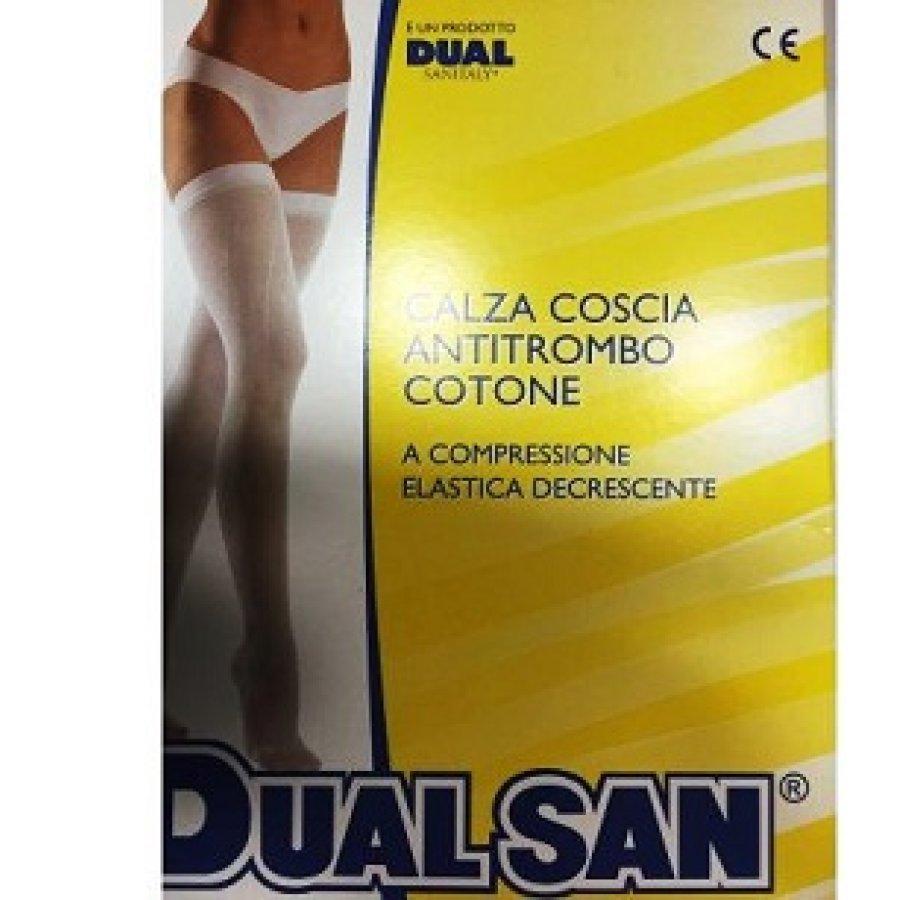 Gibaud Dual Sanitaly Calza Anti-Trombo Con Tassello Taglia 3