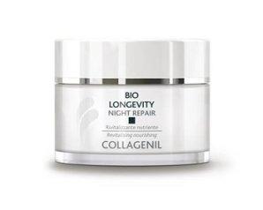 Collagenil  Bio Longevity Night Repair Crema Notte Rivitalizzante Nutriente 50ml