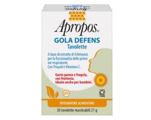 Desa Pharma Apropos Gola Defens 30 Tavolette